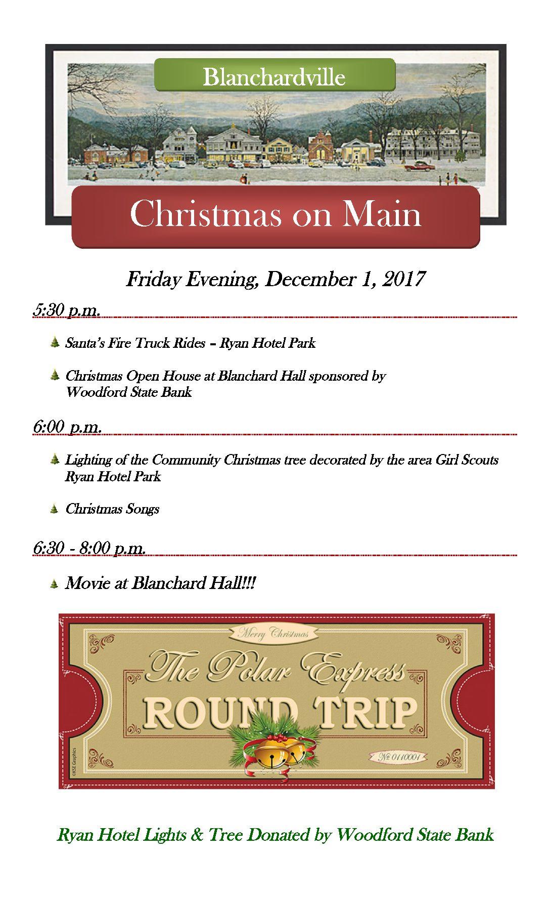 Christmas On Main – TONIGHT